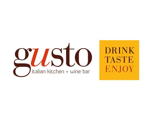 Gusto Italian Kitchen + Wine Bar Logo