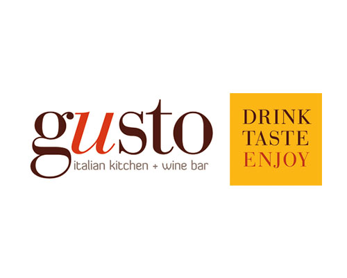 Gusto Italian Kitchen + Wine Bar Logo